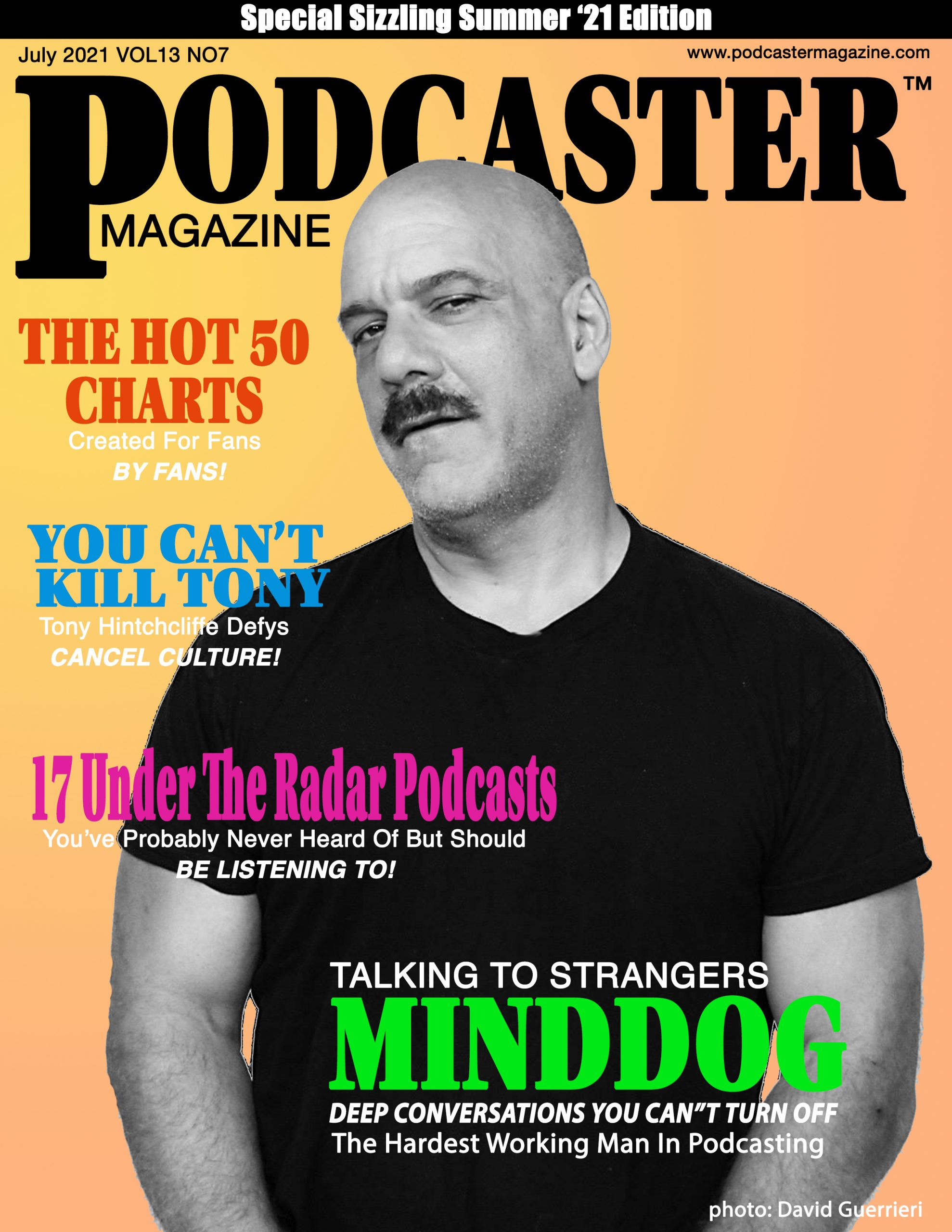 podcast magazine cover